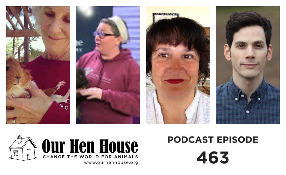 Episode 463: Karen Courtemanche, Christine Morrissey, Margo DeMello, and Richard Miron