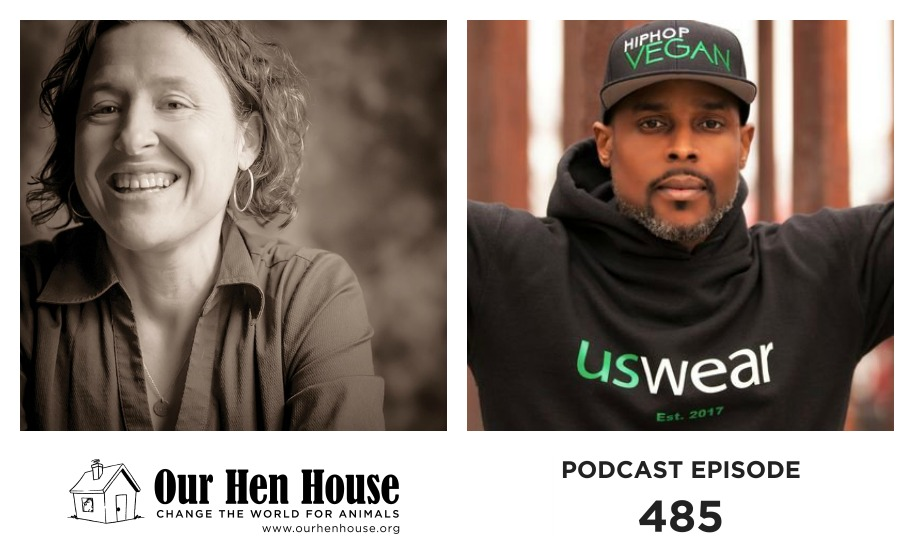 Episode 485: Gretchen Primack and Intelligent Allah on Poetry, Incarceration, and Veganism