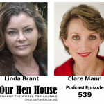 Episode 539: Artist Linda Brant and Psychologist Clare Mann