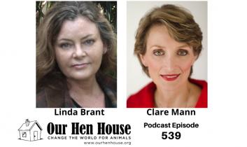 Episode 539: Artist Linda Brant and Psychologist Clare Mann