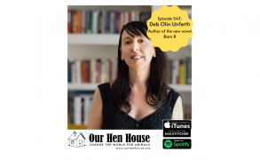 Episode 547: Deb Olin Unferth on her chicken liberation novel, Barn 8