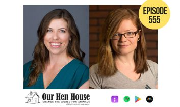 Episode 555: How Effective Research Impacts Animal Advocacy ft Brooke Haggerty and Jo Anderson