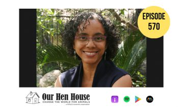 Episode 570: Diversity, Equity, and Inclusion in Animal Rights ft. Michelle Rojas-Soto
