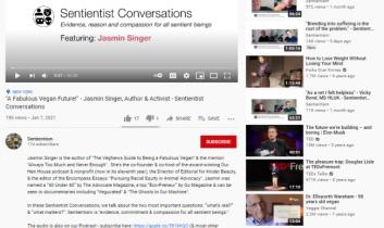 """A Fabulous Vegan Future! – Jasmin Singer, Author & Activist"" – Sentientist Conversations"