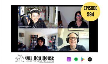Episode 594: Veganish ft. John Yunker and Midge Raymond