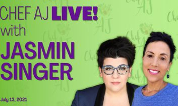 """""""How To Be A Fabulous Vegan With Jasmin Singer"""" – Chef AJ"""